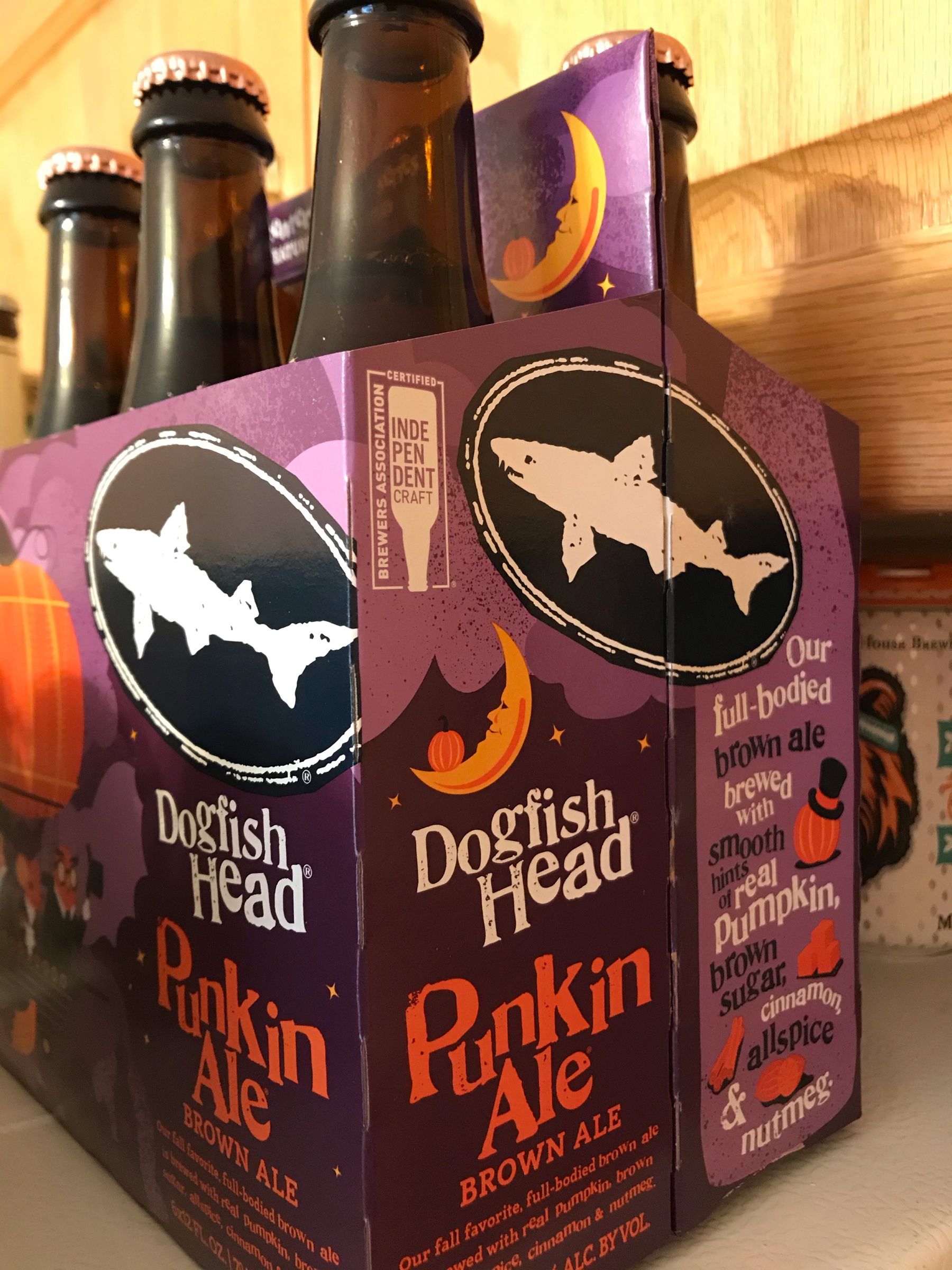 Picture of Dogfish Head Punkin Brown Ale